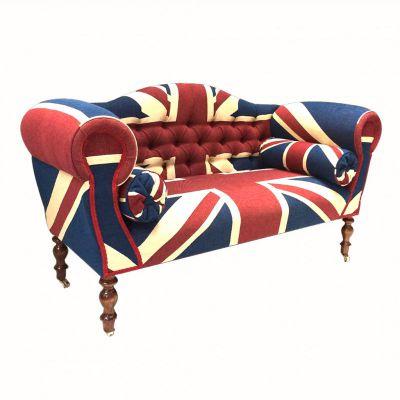 Union Jack Chaise Longue