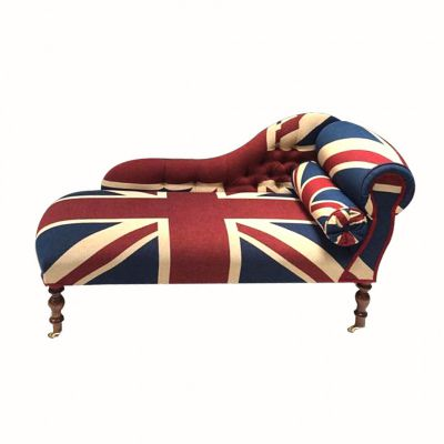 Union Jack Chaise Lounge
