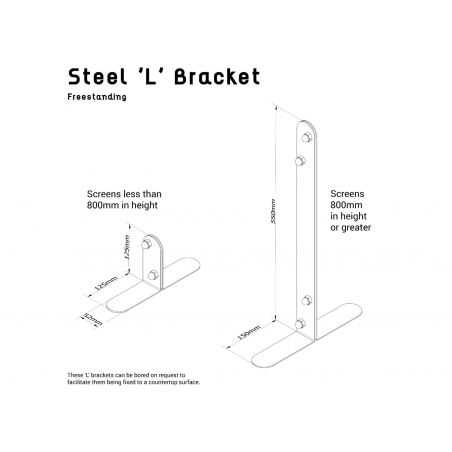 Counter Sneeze Guard Screen Industrial Furniture Smithers of Stamford £ 100.00 Store UK, US, EU, AE,BE,CA,DK,FR,DE,IE,IT,MT,N...