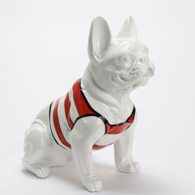 Life Size French Bulldog Ornaments