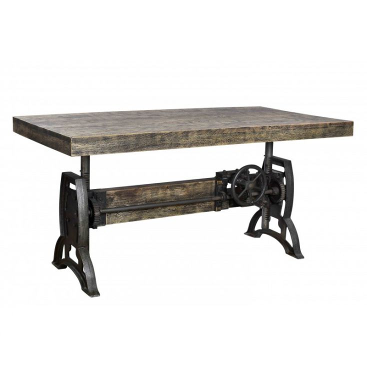 Wind Up Industrial Dining Table Industrial Furniture Smithers of Stamford £ 2,200.00 Store UK, US, EU, AE,BE,CA,DK,FR,DE,IE,I...