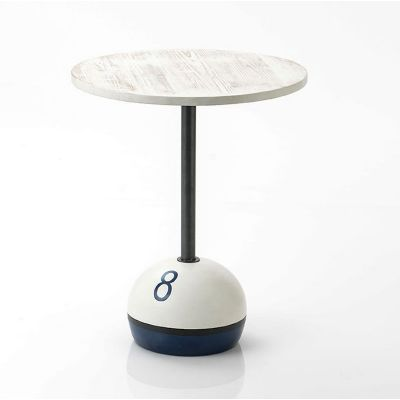 8 Ball Side Table
