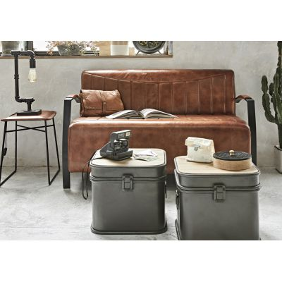 Coffee Table Storage Trunk Set