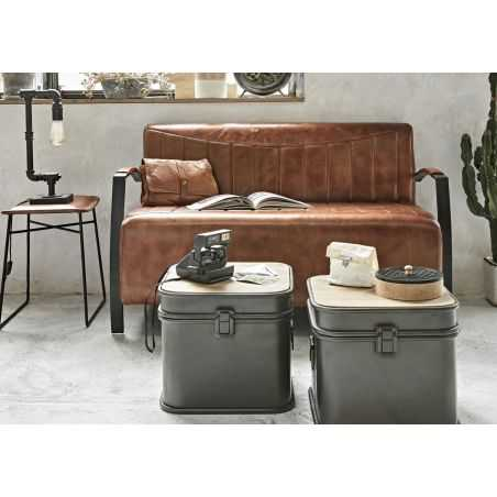 X3 Set Coffee Table Storage Trunk Set Aviation Furniture Smithers of Stamford £ 590.00 Store UK, US, EU, AE,BE,CA,DK,FR,DE,IE...