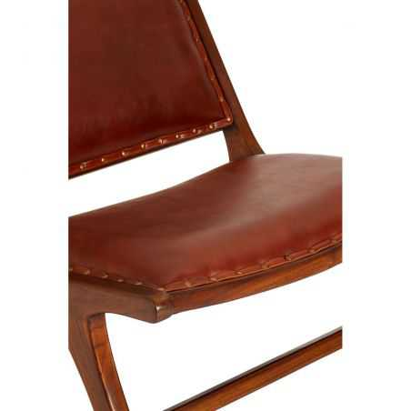 Leather Hide Lazy Chair Bedroom  Smithers of Stamford £ 560.00 Store UK, US, EU, AE,BE,CA,DK,FR,DE,IE,IT,MT,NL,NO,ES,SE