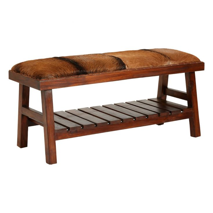 Goats Hide Bench Seat Designer Furniture Smithers of Stamford £ 395.00 Store UK, US, EU, AE,BE,CA,DK,FR,DE,IE,IT,MT,NL,NO,ES,SE