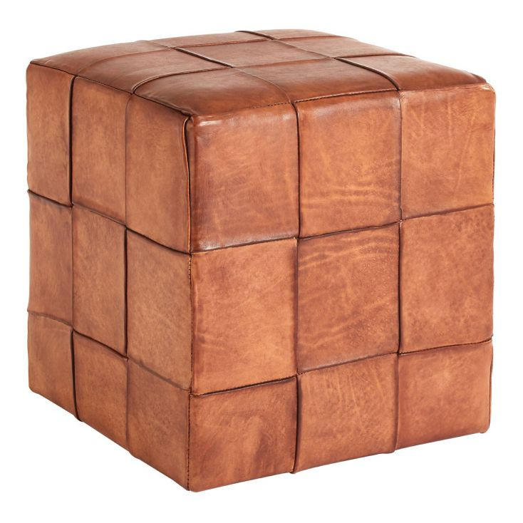 Leather Cube Stool Unique Footstools Smithers of Stamford £ 243.00 Store UK, US, EU, AE,BE,CA,DK,FR,DE,IE,IT,MT,NL,NO,ES,SE