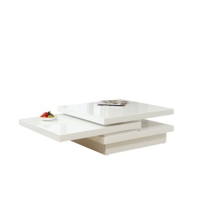 Milk Bar White Coffee Table