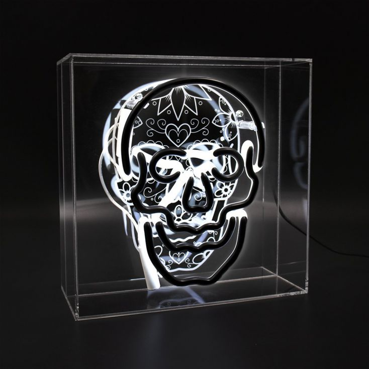 Neon Skull Neon Signs Smithers of Stamford £ 94.00 Store UK, US, EU, AE,BE,CA,DK,FR,DE,IE,IT,MT,NL,NO,ES,SE