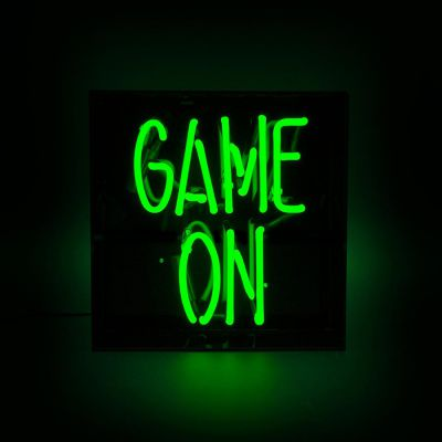 Game On Neon Sign