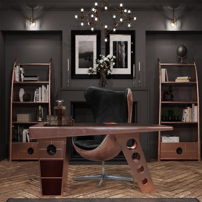 Copper Spitfire Desk