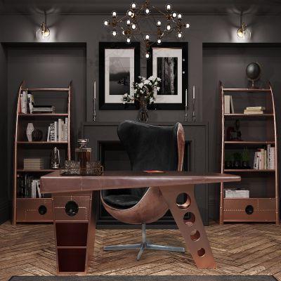 Copper Spitfire Desk