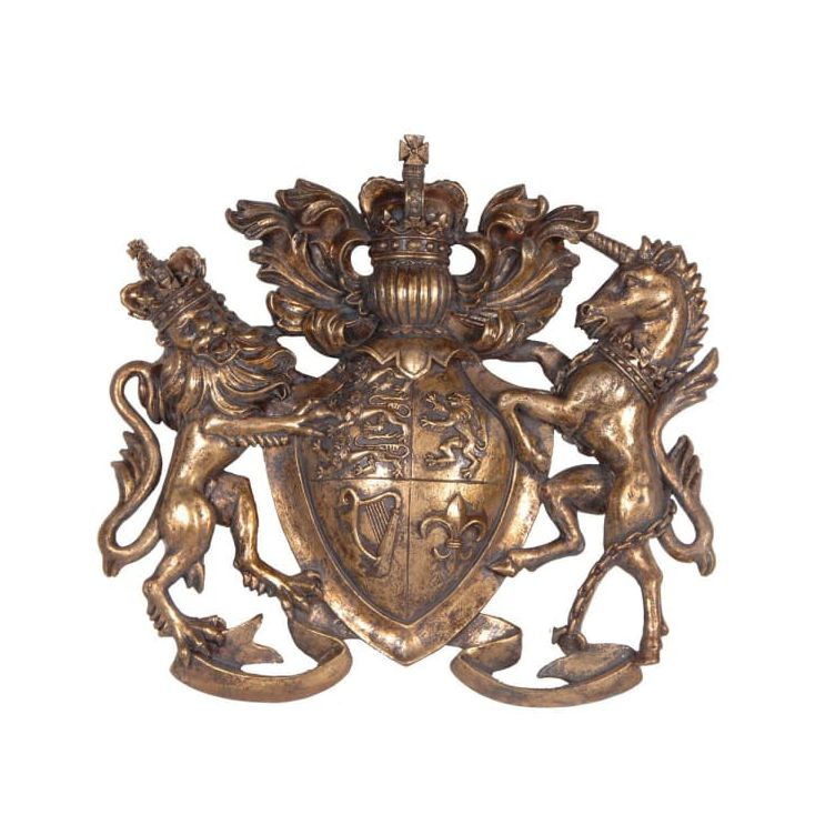 Brass Coat Of Arms Wall Plaque Retro Signs Smithers of Stamford £ 44.00 Store UK, US, EU, AE,BE,CA,DK,FR,DE,IE,IT,MT,NL,NO,ES,SE