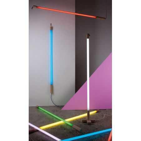 LINEA Neon Tube Lights Retro Lighting  Seletti £ 99.00 Store UK, US, EU, AE,BE,CA,DK,FR,DE,IE,IT,MT,NL,NO,ES,SE