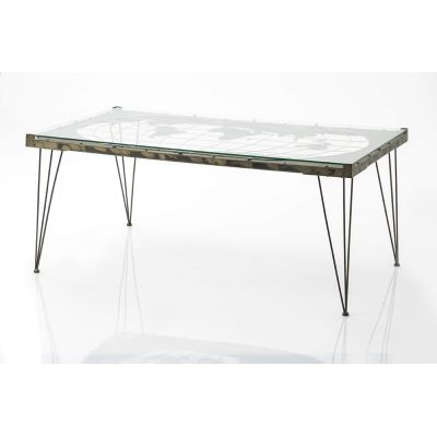 ATLAS World Map Coffee Table