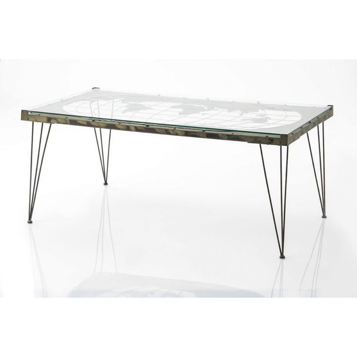 ATLAS World Map Coffee Table Industrial Furniture Smithers of Stamford £ 435.00 Store UK, US, EU, AE,BE,CA,DK,FR,DE,IE,IT,MT,...