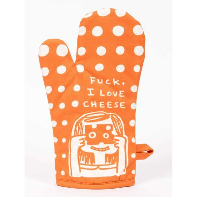 F_CK I love Cheese Oven Mitt