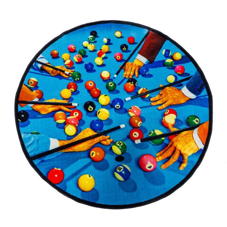 Snooker Rug Living Room Seletti £ 929.00 Store UK, US, EU, AE,BE,CA,DK,FR,DE,IE,IT,MT,NL,NO,ES,SE