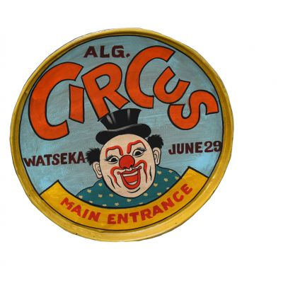 Circus Serving Trays