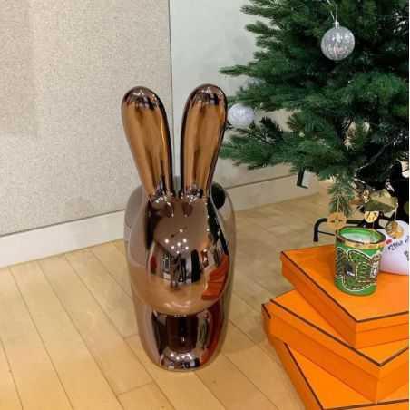 Qeeboo Metal Rabbit Chair Designer Furniture  £1,200.00 Store UK, US, EU, AE,BE,CA,DK,FR,DE,IE,IT,MT,NL,NO,ES,SE