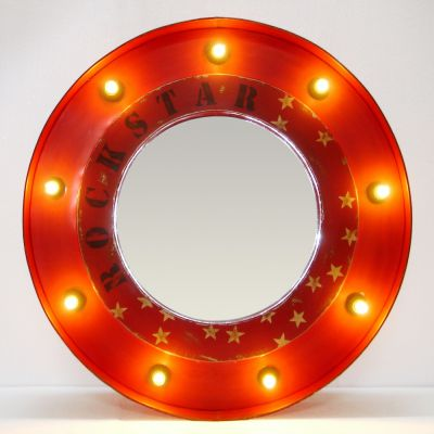 Oil Drum Rockstar Mirror