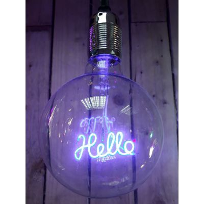 Neon Pendant Light Bulb