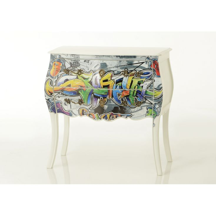 Street Art Chest Bombe Chest of Drawers Smithers of Stamford £ 520.00 Store UK, US, EU, AE,BE,CA,DK,FR,DE,IE,IT,MT,NL,NO,ES,SE