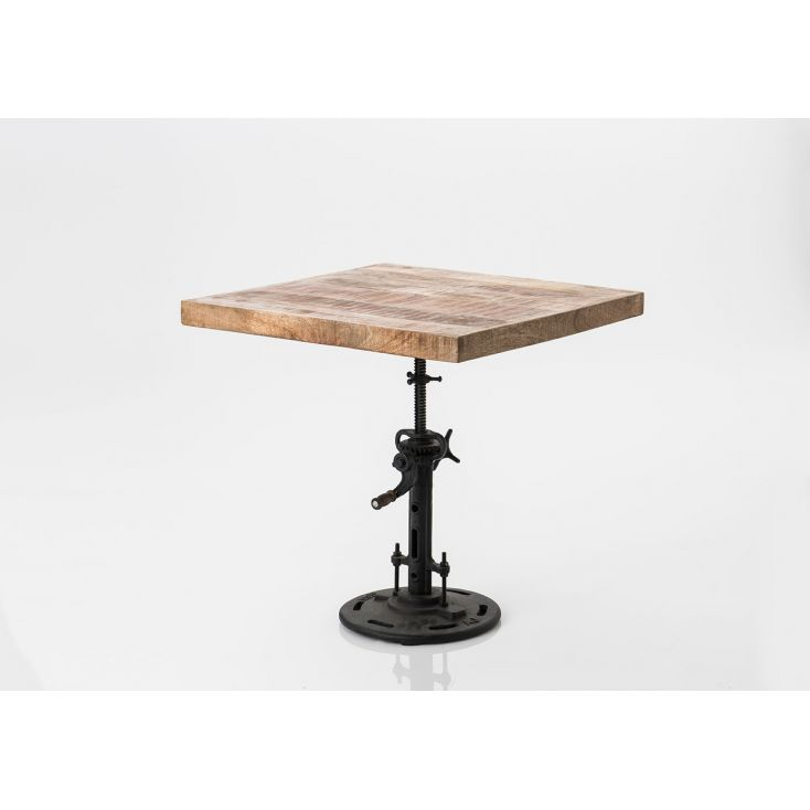 Adjustable Industrial Dining Table Kitchen & Dining Room Smithers of Stamford £ 399.00 Store UK, US, EU, AE,BE,CA,DK,FR,DE,IE...