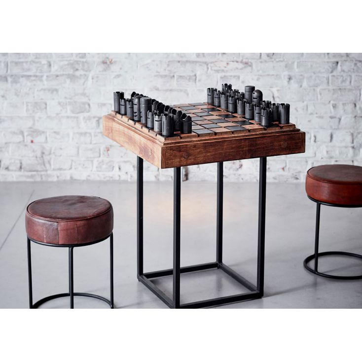 Chess Table Industrial Furniture Smithers of Stamford £ 722.00 Store UK, US, EU, AE,BE,CA,DK,FR,DE,IE,IT,MT,NL,NO,ES,SE