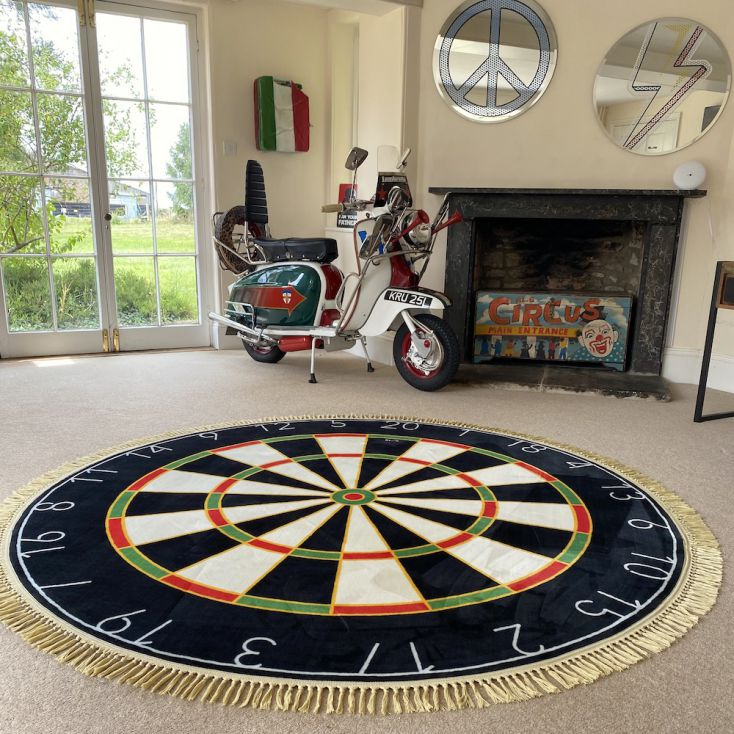 Dartboard Rug Living Room Seletti £ 737.00 Store UK, US, EU, AE,BE,CA,DK,FR,DE,IE,IT,MT,NL,NO,ES,SE