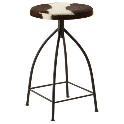 Cowhide Kitchen Counter Stools