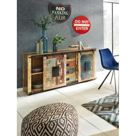 Jupiter Reclaimed Wood Sideboard Recycled Wood Furniture Smithers of Stamford £ 1,578.00 Store UK, US, EU, AE,BE,CA,DK,FR,DE,...
