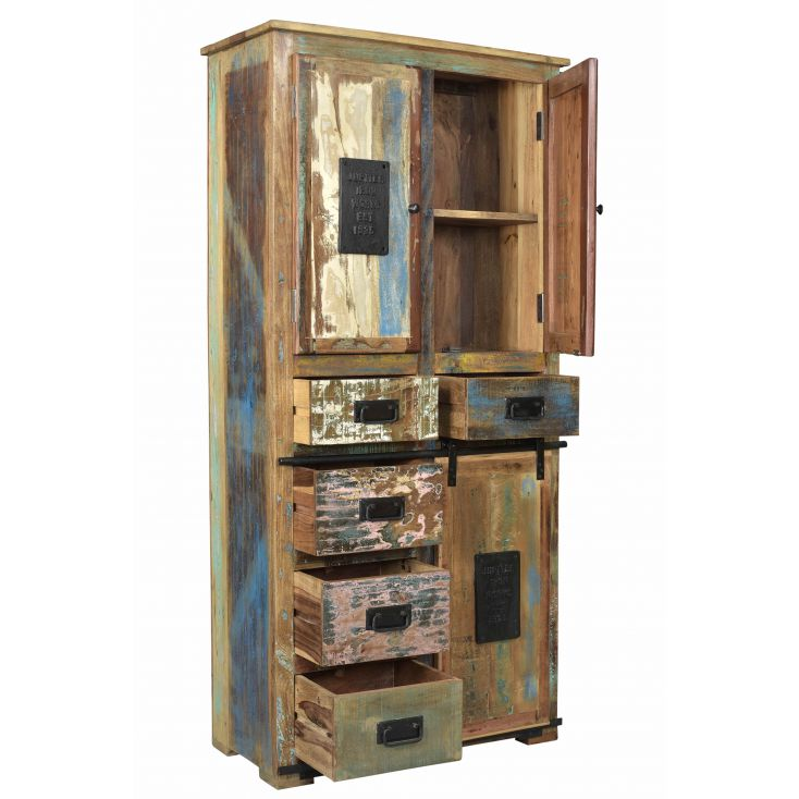Jupiter Reclaimed Wood Tall Cabinet Reclaimed Wood Furniture Smithers of Stamford £ 1,425.00 Store UK, US, EU, AE,BE,CA,DK,FR...