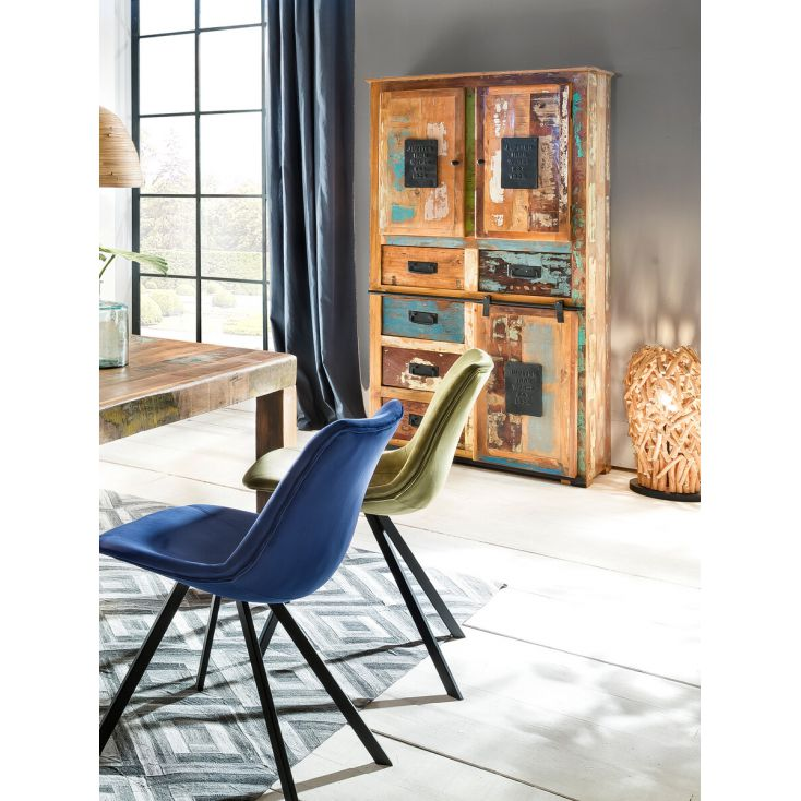 Jupiter Reclaimed Wood Tall Cabinet Reclaimed Wood Furniture Smithers of Stamford £ 1,625.00 Store UK, US, EU, AE,BE,CA,DK,FR...