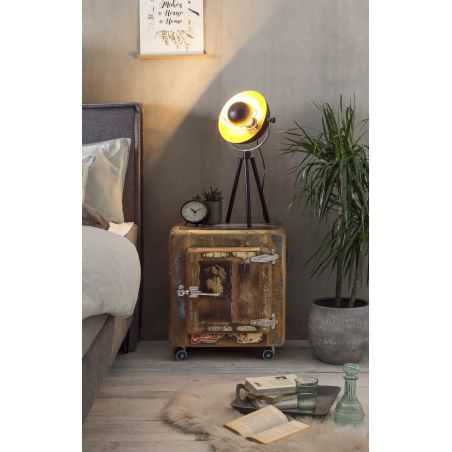 Fridge Reclaimed Wood Bedside Table Cabinets & Sideboards Smithers of Stamford £ 563.00 Store UK, US, EU, AE,BE,CA,DK,FR,DE,I...