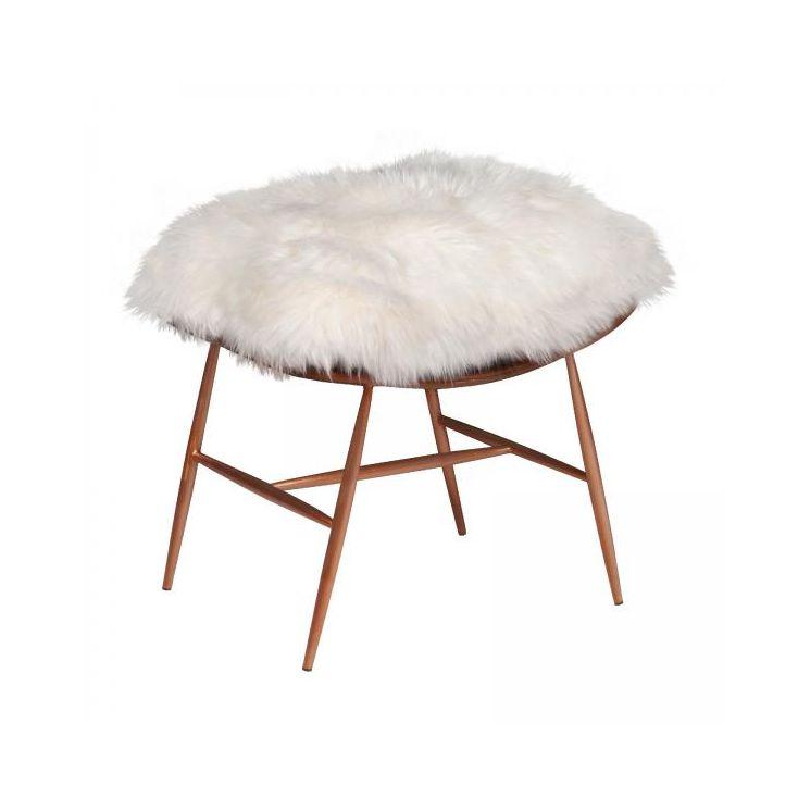 Sheepskin Footstool Designer Furniture Smithers of Stamford £ 499.00 Store UK, US, EU, AE,BE,CA,DK,FR,DE,IE,IT,MT,NL,NO,ES,SE