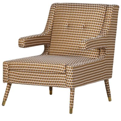 Kubrick Patterned Armchair