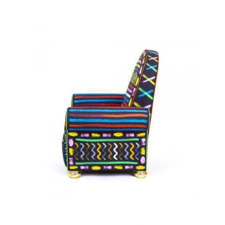 Lazy Painter Azteca Chair Seletti  £2,260.00 Store UK, US, EU, AE,BE,CA,DK,FR,DE,IE,IT,MT,NL,NO,ES,SE