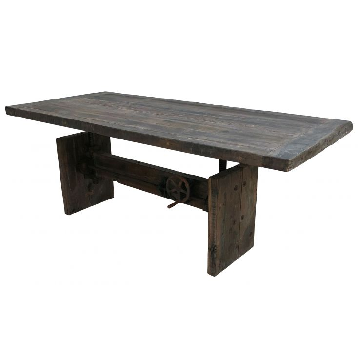 Adjustable Wind Up Dining Table Industrial Furniture Smithers of Stamford £ 2,200.00 Store UK, US, EU, AE,BE,CA,DK,FR,DE,IE,I...