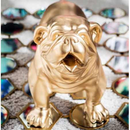 Gold Bulldog Ornaments Retro Ornaments Smithers of Stamford £275.00 Store UK, US, EU, AE,BE,CA,DK,FR,DE,IE,IT,MT,NL,NO,ES,SE