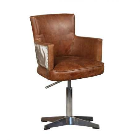 Aviator Lightning Desk Chair Aviation Furniture Smithers of Stamford £1,186.00 Store UK, US, EU, AE,BE,CA,DK,FR,DE,IE,IT,MT,N...
