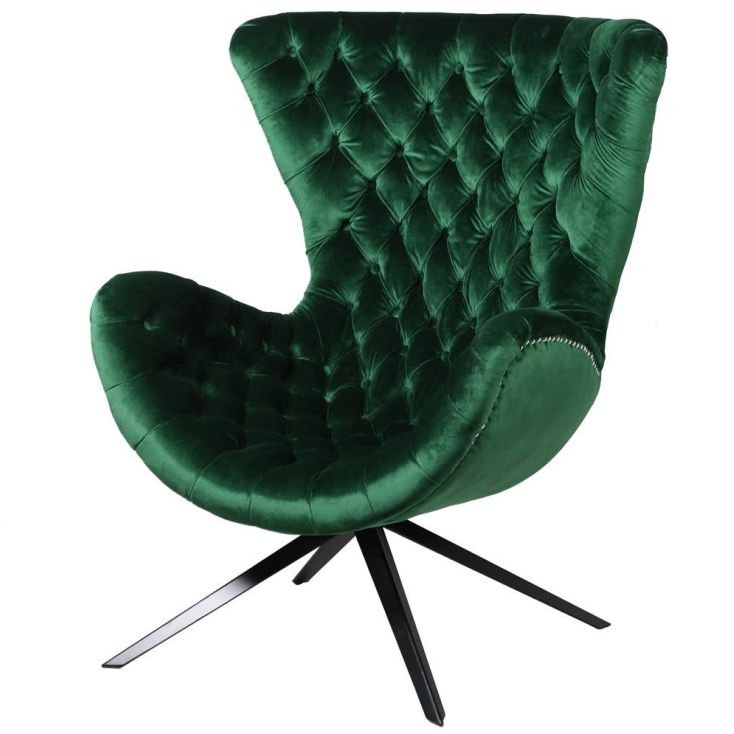 Green Velvet Accent Chair Sofas and Armchairs £ 1,050.00 Store UK, US, EU, AE,BE,CA,DK,FR,DE,IE,IT,MT,NL,NO,ES,SE