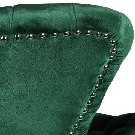 Green Velvet Accent Chair Sofas and Armchairs  £1,437.50 Store UK, US, EU, AE,BE,CA,DK,FR,DE,IE,IT,MT,NL,NO,ES,SE