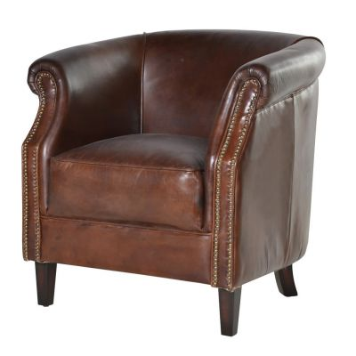 Mayfair Leather Club Chair