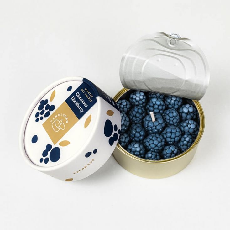 Candle Can Cinnamon BlackBerry Retro Gifts £ 24.00 Store UK, US, EU, AE,BE,CA,DK,FR,DE,IE,IT,MT,NL,NO,ES,SE