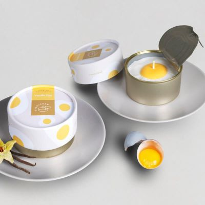 Candle Can Fried Egg