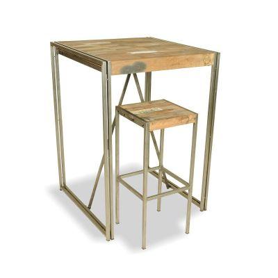New York Loft Quad Table