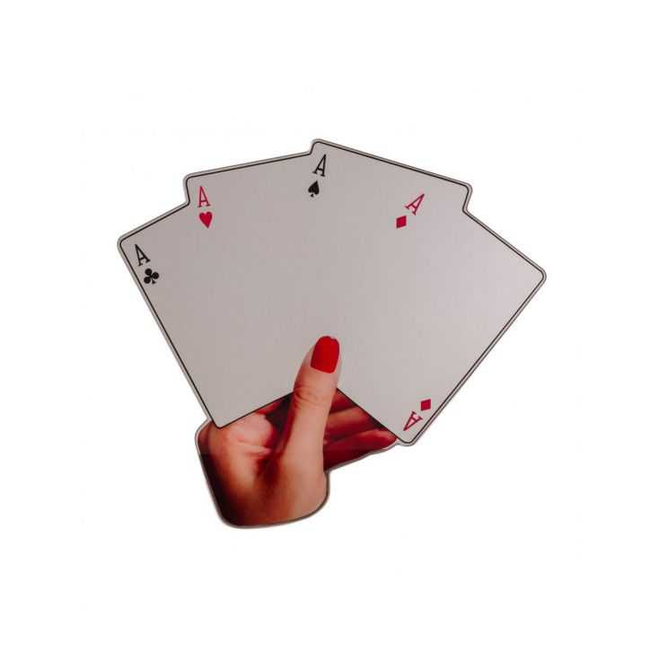 Seletti Poker Mirror Seletti  £ 210.00 Store UK, US, EU, AE,BE,CA,DK,FR,DE,IE,IT,MT,NL,NO,ES,SE