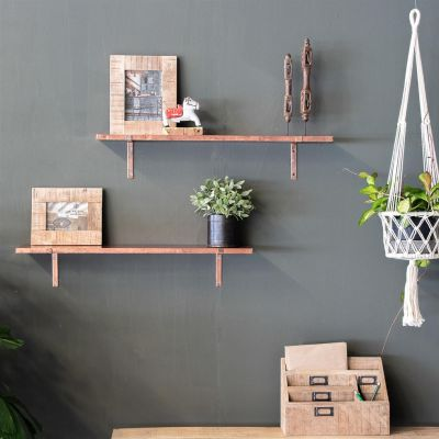 Copper Wall Shelf