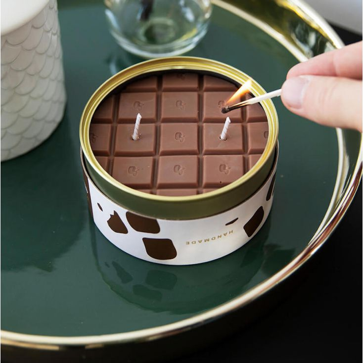 Candle Can Chocolate Retro Gifts £ 24.00 Store UK, US, EU, AE,BE,CA,DK,FR,DE,IE,IT,MT,NL,NO,ES,SE